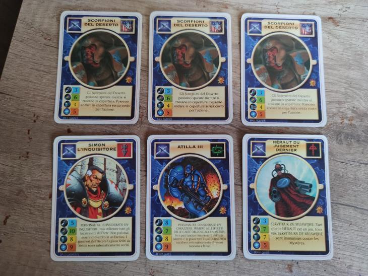 Doomtrooper - Golgotha 6 karet - Karetní hry