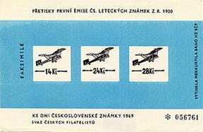 Československo - číslovaný příležitostný tisk ke dni známek - Filatelie
