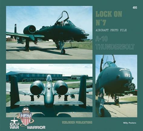 RARE publikace LOCK ON VERLINDEN Photo File 7 - A-10 THUNDERBOLT - Modelářství