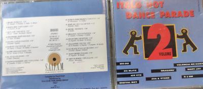 CD  ITALO HOT DANCE PARADE VOL.2