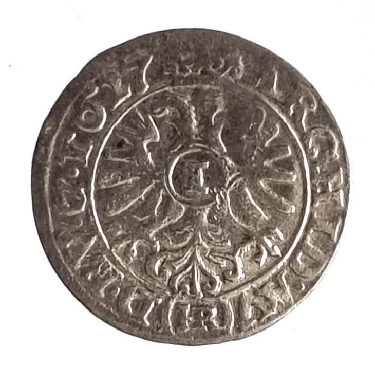 Třicetiletá válka - Ferdinand II.  stříbrný 1 krejcar 1627 W/HR - Numismatika