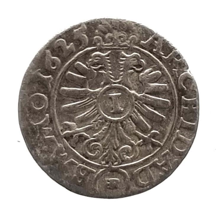 Třicetiletá válka - Ferdinand II.  stříbrný 1 krejcar 1625 W/HR - Numismatika