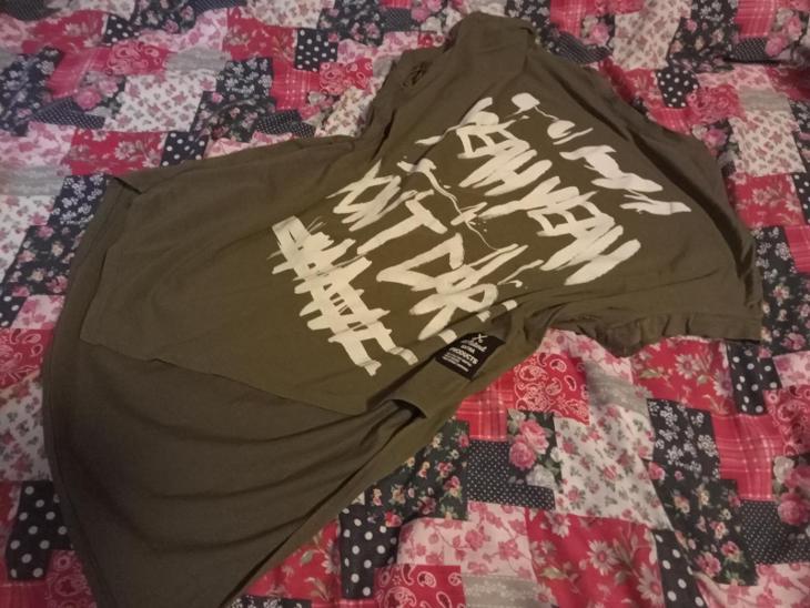 Acqua/Limone Florence, vel. L/XL, khaki pohodlná tunika - Dámské oblečení