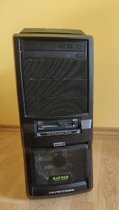 PC CASE MS-TECH CA-0300 Raptor*mechanika, licence Windows 7, 2x větrák