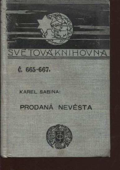 Prodaná nevěsta (Ottova Světová knihovna) - Knihy