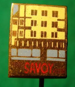 odznak/ HOTEL SAVOY-KOLÍN /25