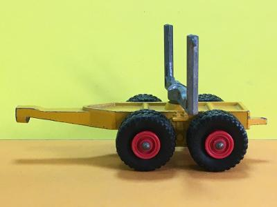 King Size Scammell Contractor Pipe Truck - Matchbox K-10 (M17-m4)