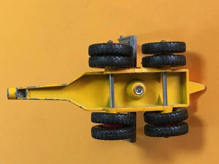 King Size Scammell Contractor Pipe Truck - Matchbox K-10 (M17-m4) - Starožitnosti