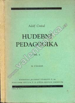 Hudební pedagogika, díl I. - Knihy