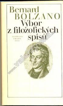 Výbor z filozofických spisů - Knihy