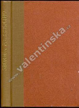 Sborník ku poctě Františka Krejčího - Knihy