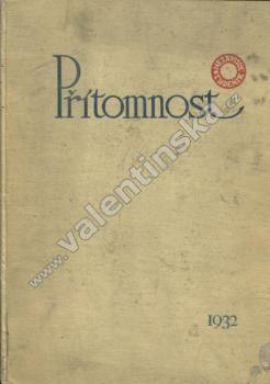 Časopis Přítomnost, komplet ročník IX. (1932)