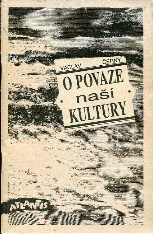 O povaze naší kultury - Knihy