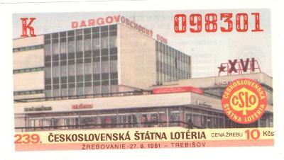 Los ČSL 1981 TREBIŠOV
