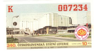 Los ČSL 1981 KARVINÁ
