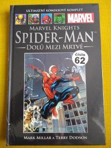 Spiderman Dolů mezi mrtvé (UKK 62 resp. 63 na hřbetu)