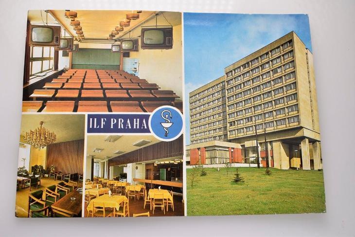 Praha, Michle, ILF Praha - Pohlednice