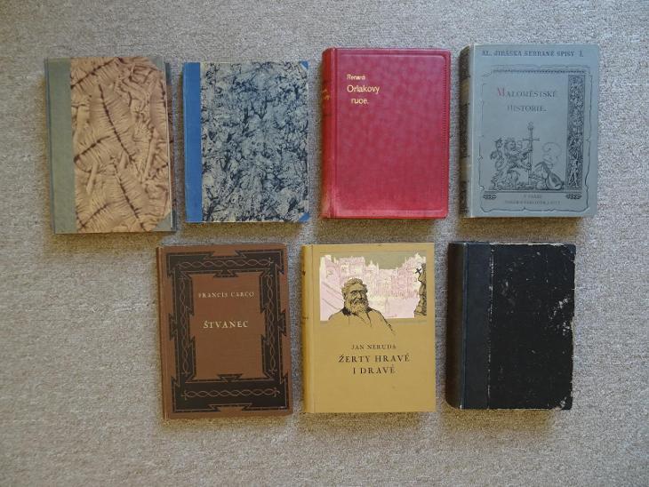 7x starý / starší román - Knihy