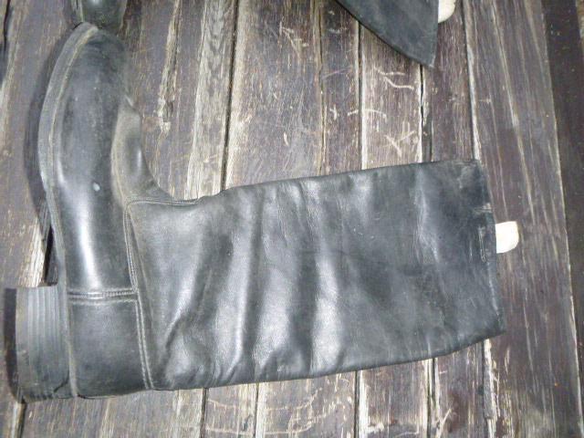 Staré vysoké boty SSSR - Vojenské