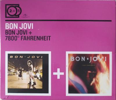 2CD Bon Jovi – Bon Jovi / 7800º Fahrenheit