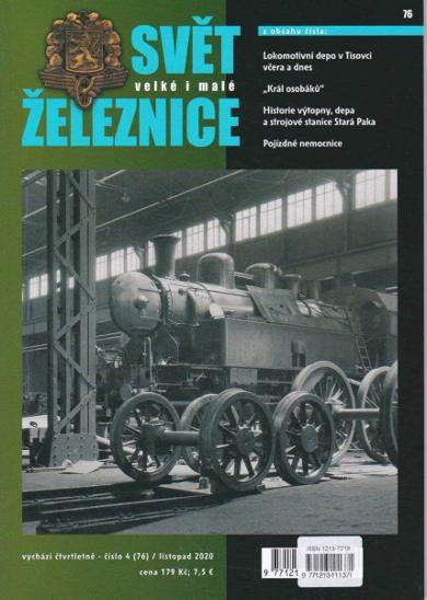 SVĚT ŽELEZNICE č. 76/ listopad 2020 - Knihy