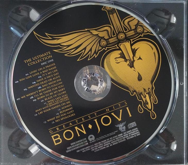 2CD Bon Jovi – Greatest Hits: The Ultimate Collection - Hudba