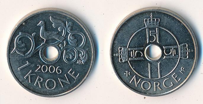 Norsko 1 koruna 2006 - Numismatika