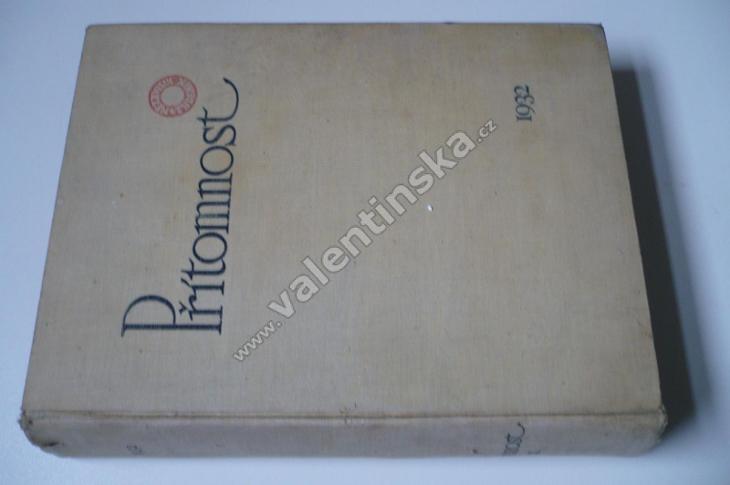 Časopis Přítomnost, komplet ročník IX. (1932) - Knihy