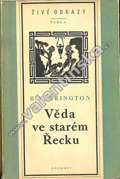 Věda ve starém Řecku a její význam pro nás, I. - Knihy