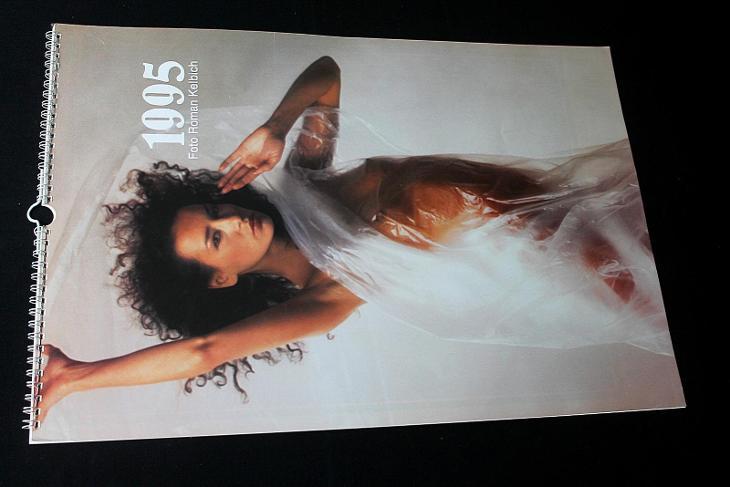 Erotický kalendář - 1995 foto Roman Kelbich  - Erotická literatura