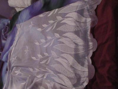 záclona nová  vzor