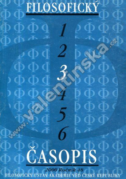 Filosofický časopis 3 - Knihy