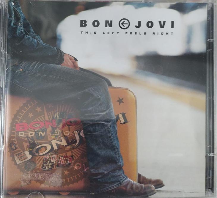CD+DVD Bon Jovi – This Left Feels Right - Hudba