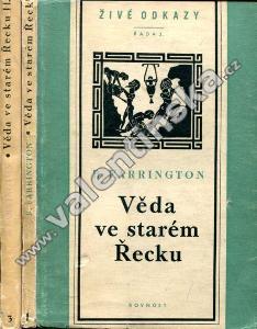Věda ve starém Řecku a její význam pro nás I., II.