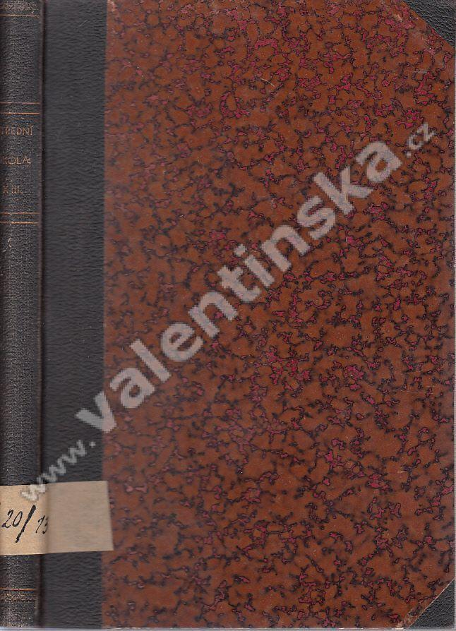 Střední škola, r. XIII. (1932) - Knihy