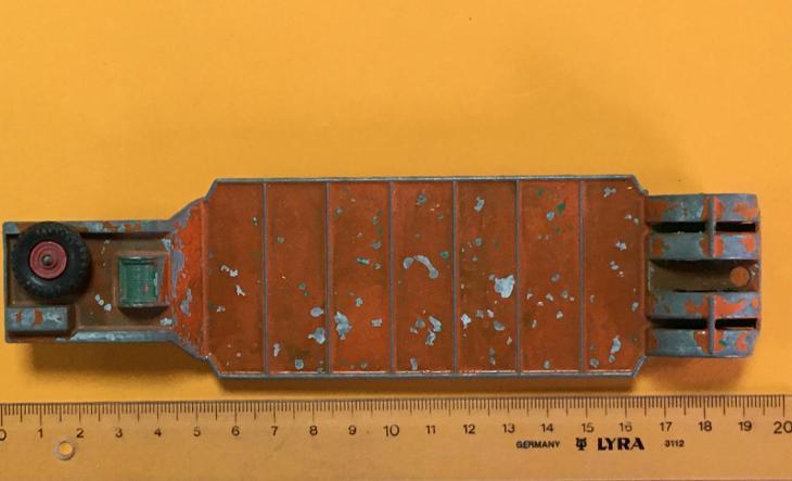 King Size K-17 Dyson Low-Loader - Matchbox (M17-m9) - Starožitnosti