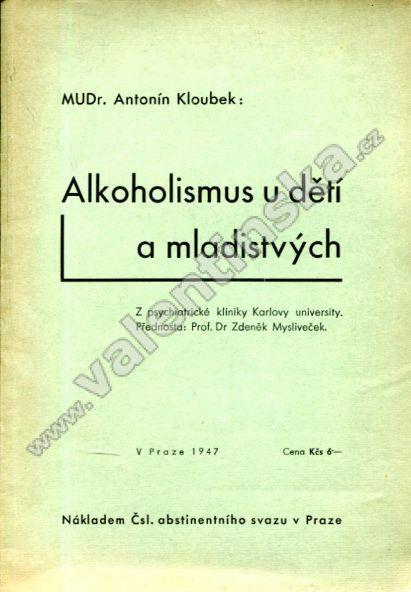 Alkoholismus u dětí a mladistvých - Knihy