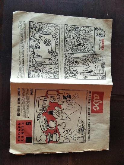 ABC 1958/59 plánky a návody - Modelářství