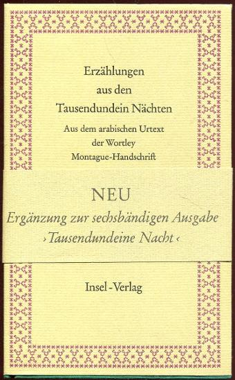"""Erzählungen aus den Tausendundein Nächten [""""Příbě - Knihy"""