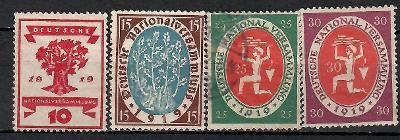 401 - Německo 1919, Mi 107 - 10,