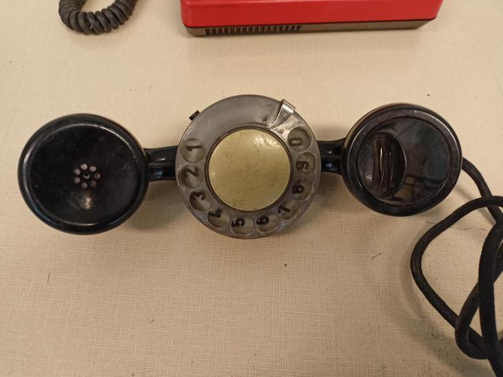 telefónní přístroj Tesla Stropkov + telefónní zkoušečka - Starožitnosti