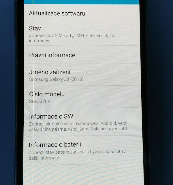 Samsung Galaxy J3 (320 F)2016  3 kusy - Mobilní telefony