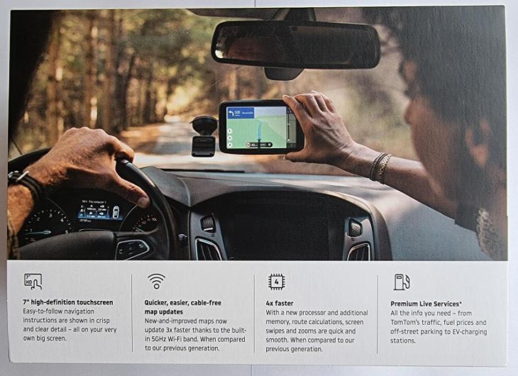 """TomTom GO Discover 7"""" - GPS"""