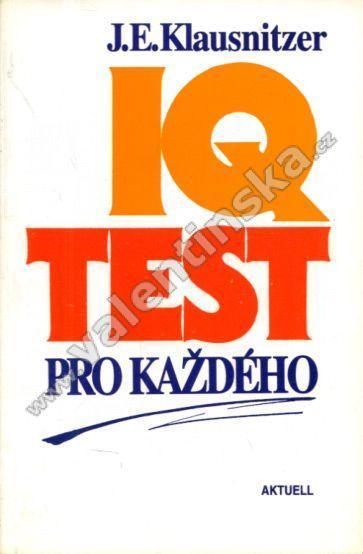 IQ test pro každého - Knihy