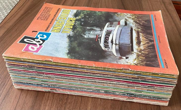 ABC časopisy - ročník 21/ rok 1976-1977- čtěte popis! - Časopisy