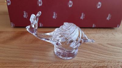 Dárkové zvířátko Moser - Hlemýžď čirý (prodej starožitností a skla)
