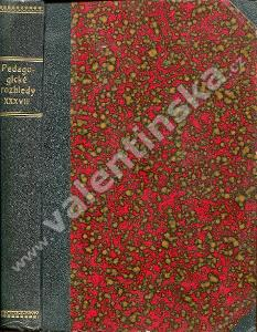 Pedagogické rozhledy, r. 38. (1928)