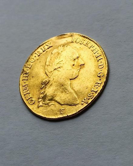 Zlatý vzácný 2 dukát JOSEF II. 1786 E  Uhersko❗6.9g 986/1000 Au - Numismatika