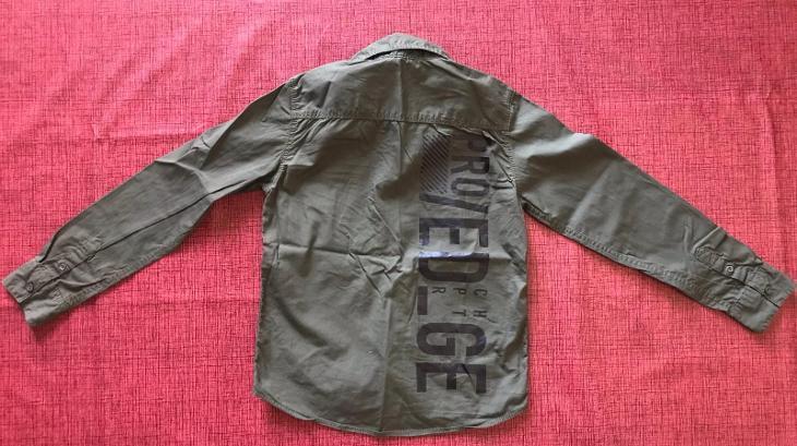 Dětská košile + nátělník 134 - Oblečení