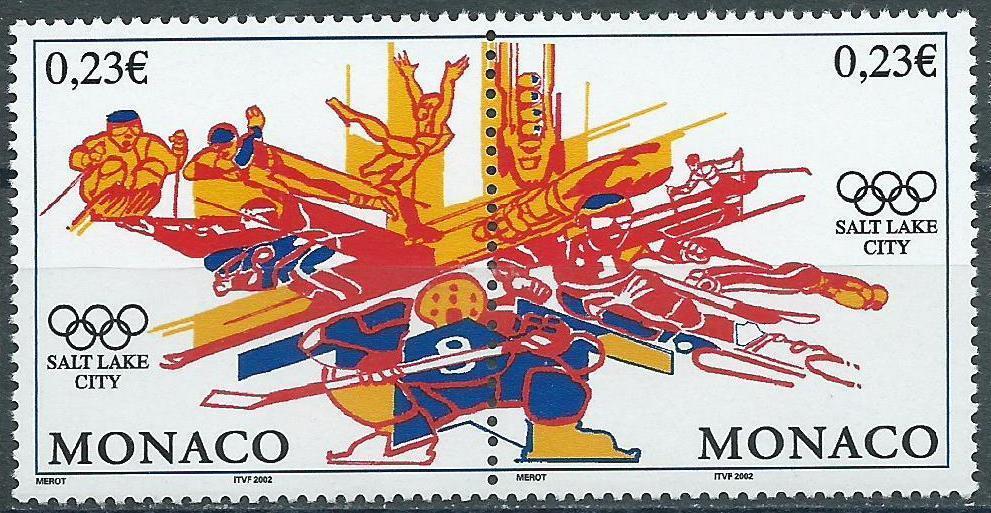 Monaco, Mi 2588/9,  ** - Filatelie